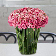 Plushy Pink: Thank You Flower Delivery in UAE