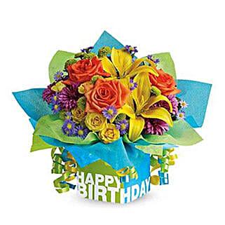 Pretty Present: Send Birthday Flowers to UAE