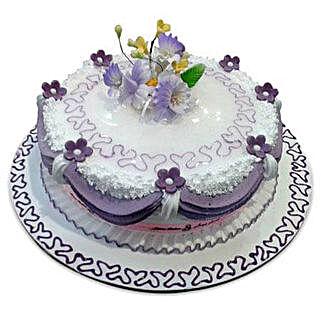 Purple Glow: Valentine's Day Cake Delivery in Dubai