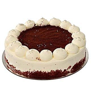 Red Velvet Cake 1Kg: Valentine's Day Cake Delivery in Dubai