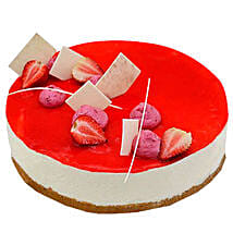 Strawberry Cheesecake: Birthday Cakes Abu Dhabi