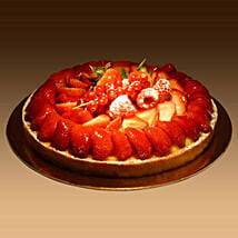 Strawberry Tart: Birthday Cake Delivery in Dubai