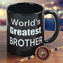 Stunning Rakhi Mug: Send Rakhi for Brother in UAE