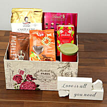 Valentine Special Chocolate and Coffee Hamper: New Arrival Gifts to UAE