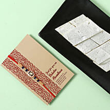 Yummy Kaju Katli and Designer Rakhi Combo: All Rakhi UAE