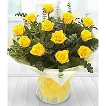 A Dozen Yellow Roses: Thanks Gifts to London