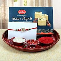 Aum Fancy Combo Rakhi: Send Rakhi to Edinburgh