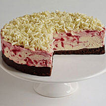 Bohemian Rhaspberry White Chocolate Cheesecake: Cakes to Chicester