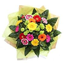 Bright Gerbera Delight: Thank You Gifts to UK
