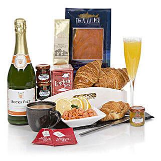 Celebration Breakfast: New Year Gifts to UK