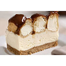 Chocolate Truffle Profiterole Cheesecake: Gifts to Cambridge