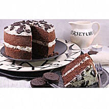 Cookies And Cream Sponge Cake: Send Gifts to Newcastle