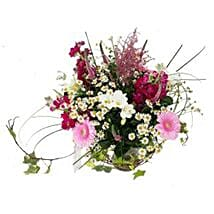 Country Garden Bouquet: Anniversary Flowers to UK