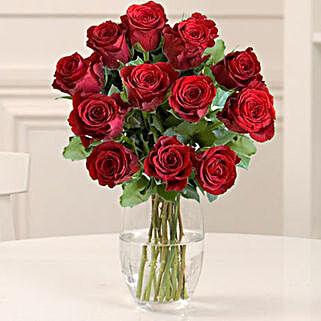 Dozen Red Fairtrade Roses