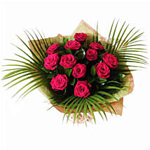 Dozen Red Roses: Valentine's Day Roses Delivery UK