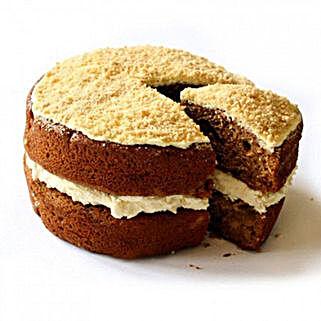 Gluten Free Apple Crumble Sponge Cake: Cakes to Derby