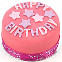 Happy Birthday Pink Cake: Send Cakes to Derby