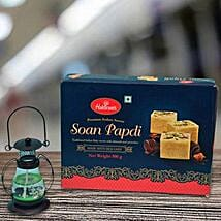 Lantern Diya N Soan Papdi: Diwali Gift Delivery in UK