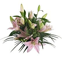 Lush Lillies in Pink: Thank You Gifts to UK
