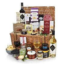 Luxury Traditional Christmas Hamper: New Year Gifts to UK