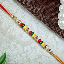 Multicolour Fancy rakhi: Rakhi to Edinburgh