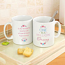 Personalised One In A Million Mug: Father's Day Presents to UK