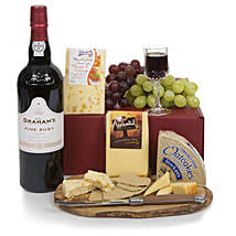 Port and Cheese Selection: Send Mother's Day Gifts to UK