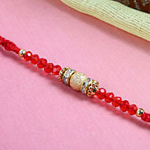 Red sparkling thread: Send Rakhi to Edinburgh