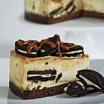 Salted Caramel Cookies and Cream Cheesecake: Send Cakes to Glasgow