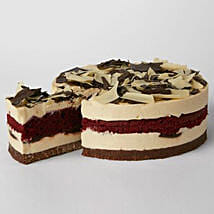 Simply Red Velvet Cheesecake: Send Cakes to Liverpool