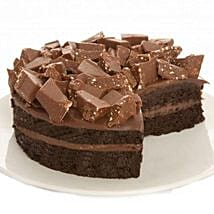 Swiss Alps Fudge Cake: Send Gifts to Cambridge