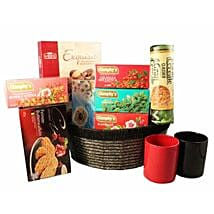 Tea Time Gift basket: Thank You Gifts to UK