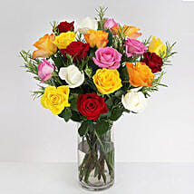 Vibrant Beauty Bouquet: Anniversary Flowers to UK