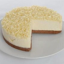 White Chocolate Truffle Cheesecake: Send Cakes to Liverpool