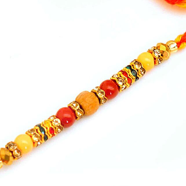 Beautiful Beads Rakhi