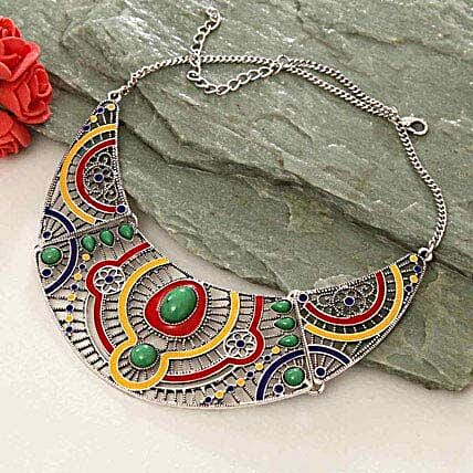 Charming Colorful Necklace