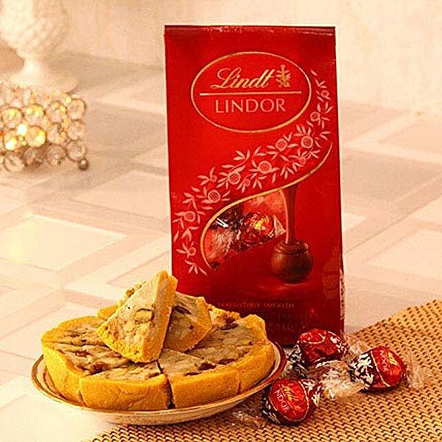 Lindt Milk Chocolate Truffles N Dryfruit Cassata