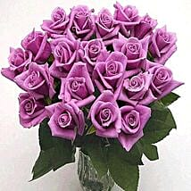 25 Long Stem Lavender Roses: Flowers to Irving