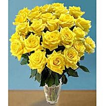 25 Long Stem Yellow Roses: Father