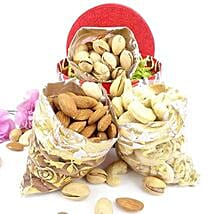 3 Dry Fruits Potli Combo: Dry Fruits to USA