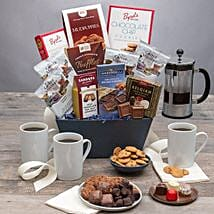 All Sweet Coffee Basket: Corporate Gifts to USA