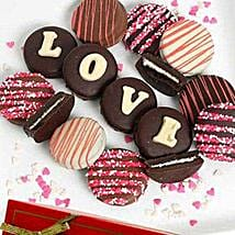 Belgian Choco Covered Oreo: Send Valentine Gifts to Miami