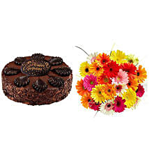 Birthday Treat: Send Flowers & Cakes to Jersey