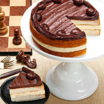 Boston Cream Cake: Send Gifts for Father to USA
