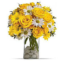 Bright Sensation: Friendship Day Flowers to USA