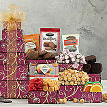 Chocolate and Sweets Tower: Birthday Gifts to Seattle