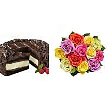 Chocolate Cheesecake and Colorful Roses: Father