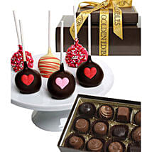 Chocolate Covered Cake Pops N Truffles: Valentine's Day Gift Delivery Chicago