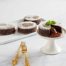 Chocolate Truffle Lava Cakes: Send Cakes to Cary