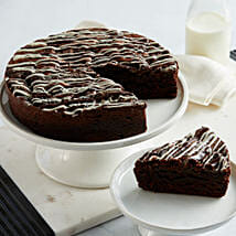 Cookies and Cream Brownie Cake: Father